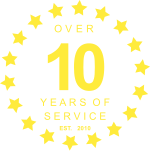 10 Years in Service